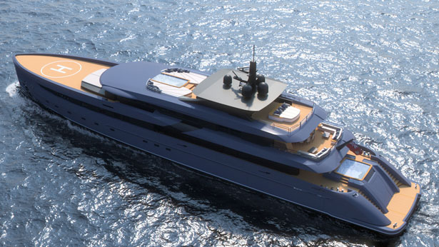 F65 Concept Yacht Features Incredible Outside Areas