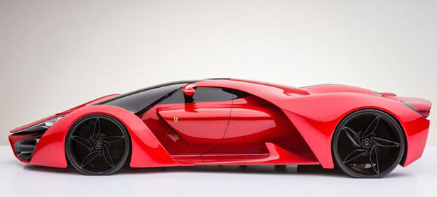 F80 Concept Car by Adriano Raeli