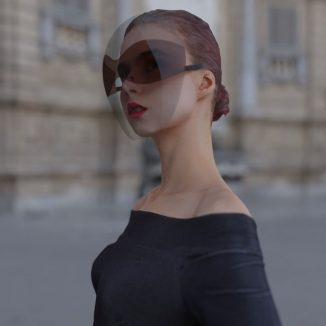 Face Shield as Fashion Accessory : Yes or No?