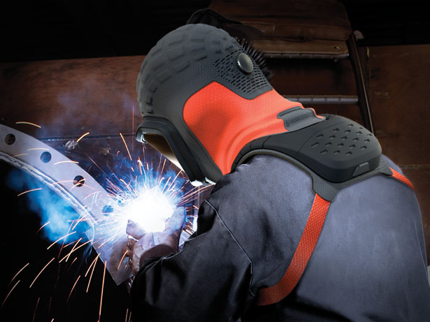 Falcon - next generation welding mask by Janis Beinerts