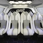 Futuristic Bell Helicopter FCX-001 Concept Aircraft Features A Single Pilot Seat and Spacious Cabin