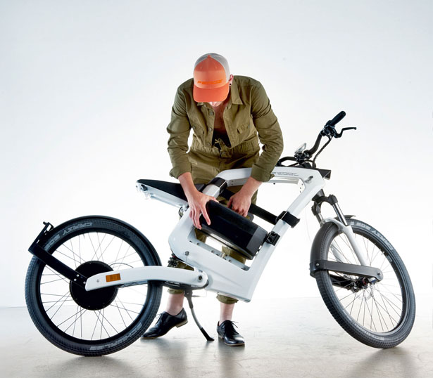 FEDDZ Electric Moped by Slog Design