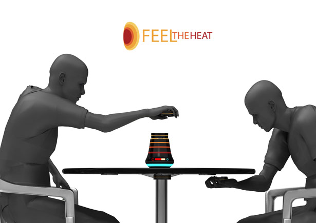 FeelTheHeat Outdoor Heater by Bilgehan Keçeli