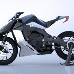 Feline One Motorcycle Features Clean Lines Enhanced by A Powerful Front Fork and A Hook Shaped Back