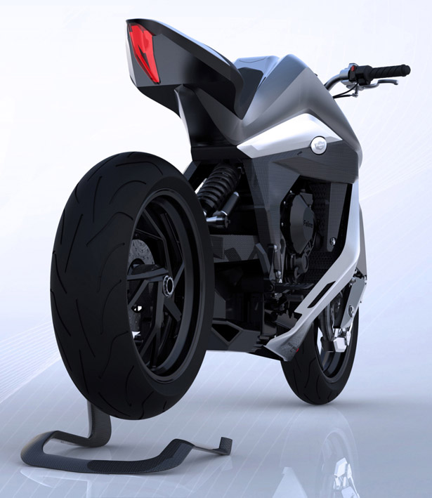 Feline One Motorcycle by Yacouba Design Studio