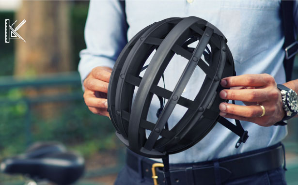 Fend Collapsible Bicycle Helmet