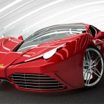 Ferrari '91 Furia Concept Car for The Next Generation of F458