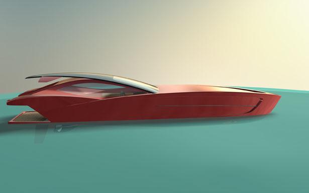 Ferrari E110 Elegante Exotic SpeedBoat