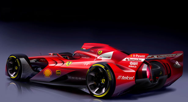 Ferrari F1 Concept Car for The Future