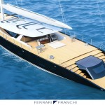 Ferrari Franchi 50m Sloop Features Modern Design with Innovative Reserve Bow