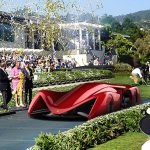 Gothica Rossa Concept Supercar was Inspired by Ferrari and Gothic Architecture