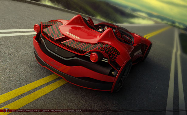 Ferrari Millenio Futuristic Electric Vehicle