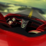 Ferrari Millenio : Eco-Friendly Futuristic Electric Vehicle by Marko Petrovic