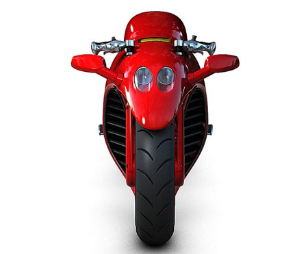 Ferrari v4 : A Motorcycle Concept Inspired By Ferrari - Tuvie