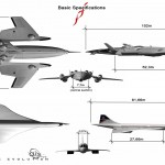 Flash Falcon (FF) : Futuristic Electric Supersonic Jet by Oscar Vinals