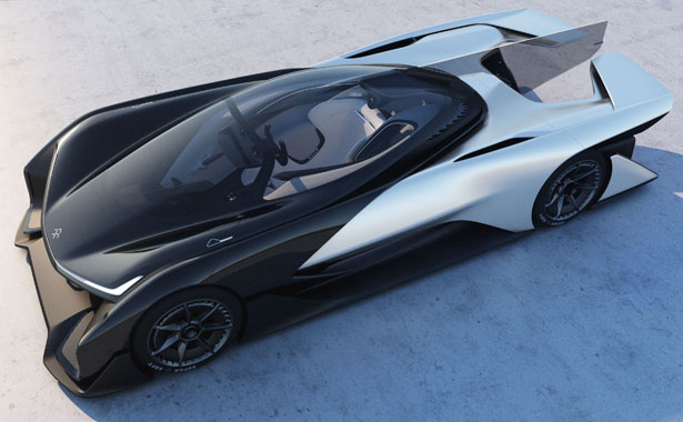 FFZero1 Electric Concept Car by Faraday Future