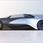 FFZero1 Electric Concept Car: Futuristic Single Seat Vehicle from Faraday Future