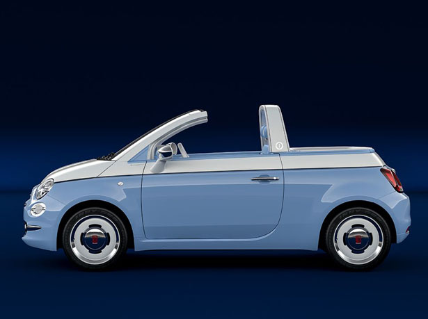 Fiat 500 Spiaggina by Garaga Italia Pays Tribute to Iconic Fiat 500