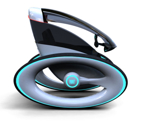 Fiat Eye Personal Vehicle by Dinard Da Mata