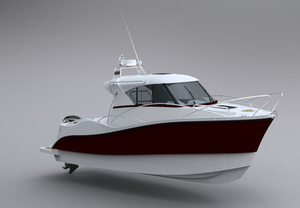 fiberships casman 700 is a sporty and elegant boat tuvie