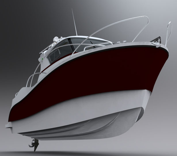 Fiberships Casman 700 Boat