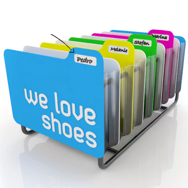 file it shoe organizer