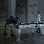 Filotto : Elegant Pool Table with Crystal Structure