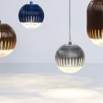 Fin Light Round Copper by Tom Dixon