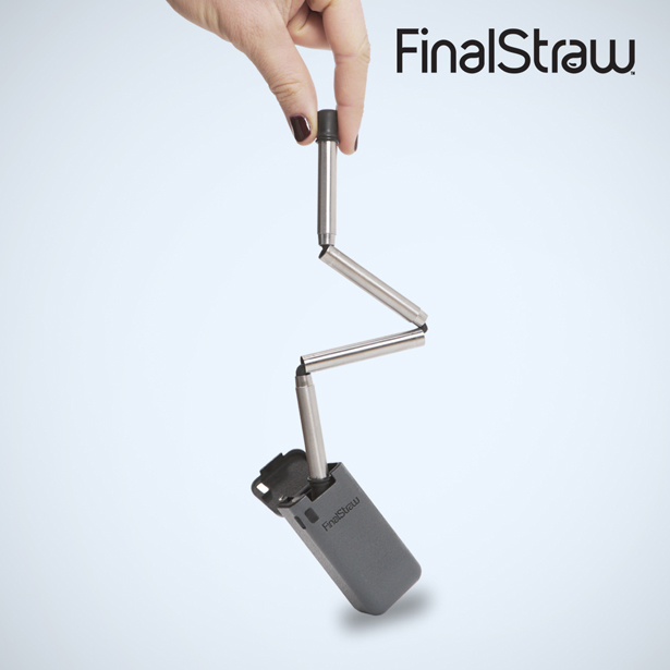 FinalStraw - Reduce Plastic Waste, Use Collapsible, Reusable Straw