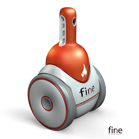 fine intelligent fire extinguisher