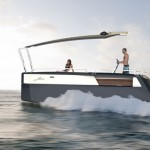 FINES Foldable Multi-hull Boat Expands to Give You More Space