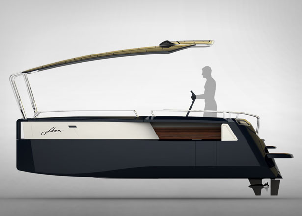 FINES Foldable Multi Hull Boat by Formquadrat