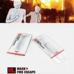 Fire Escape Mask with Liquid Medicine to Prevent Inhalation of Toxic Gases