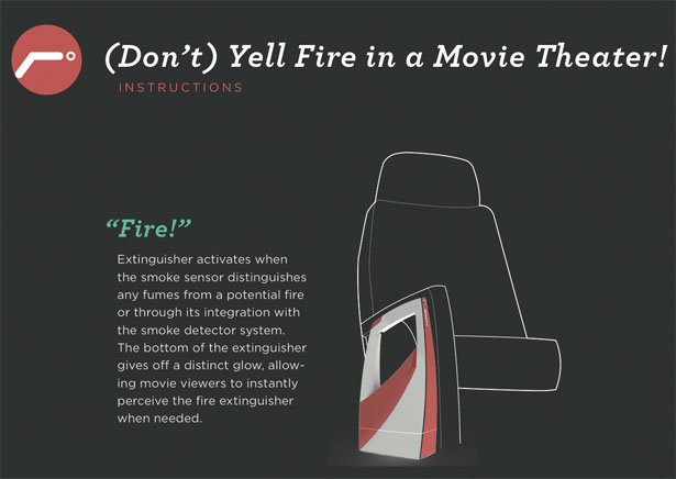 Fire Extinguisher for Movie Theater