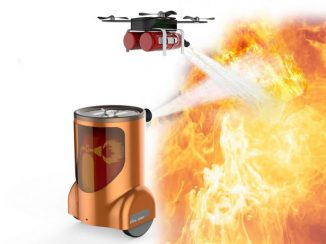 Fire Man: Smart Fire-Fighting Equipment to Put Out Fire Safely