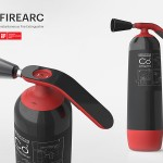 FireArc Instantaneous Fire Extinguisher Works Similar to a Lifejacket