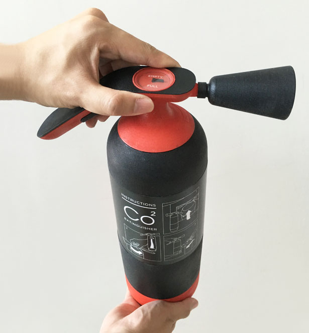 FireArc Instantaneous Fire Extinguisher by Eason Chow