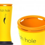 Fish Hole Creates Safe Ice Hole In Frozen Lakes or Ponds