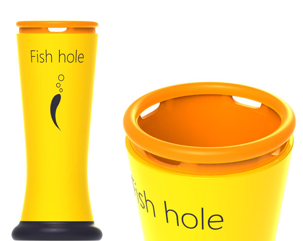 Fish Hole Oxygen Adding Cylinder