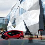 Fisker Orbit Electric Smart Shuttle for Future Smart Cities