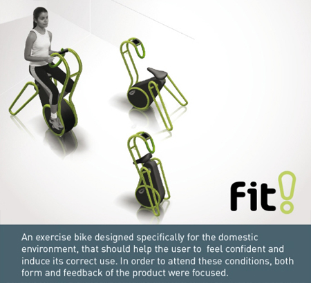 fit domestic exercise bike