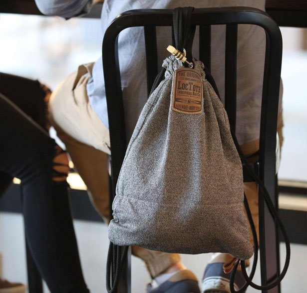Flak Sack Drawstring Dackpack by Loctote Industrial Bag Co.