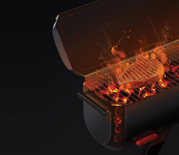 FlameOn – Barbecue Grill by Mobigarden and Design2Gather