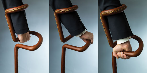 Flamingo Crutch Exc. by Can Guvenir Design Studio