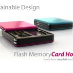 Stylish Flash Memory Card Holder