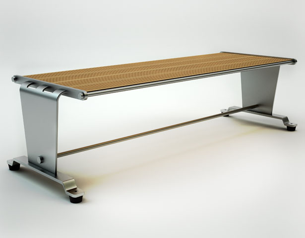 Flatseat Bench by Hakan Gursu