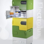 "Electrolux ""Flatshare Fridge"" : Stackable Fridge by Stefan Buchberger"