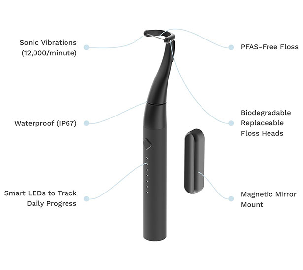 Flaüs Eco-Friendly Electric Flosser