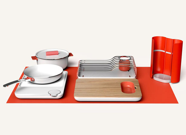 Flexible Cooking Set by Yu Li