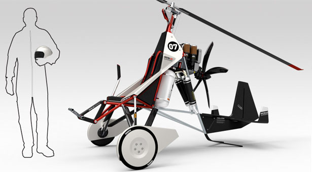 Fliege – Supergiro : Innovative Sportgyrocopter Concept by